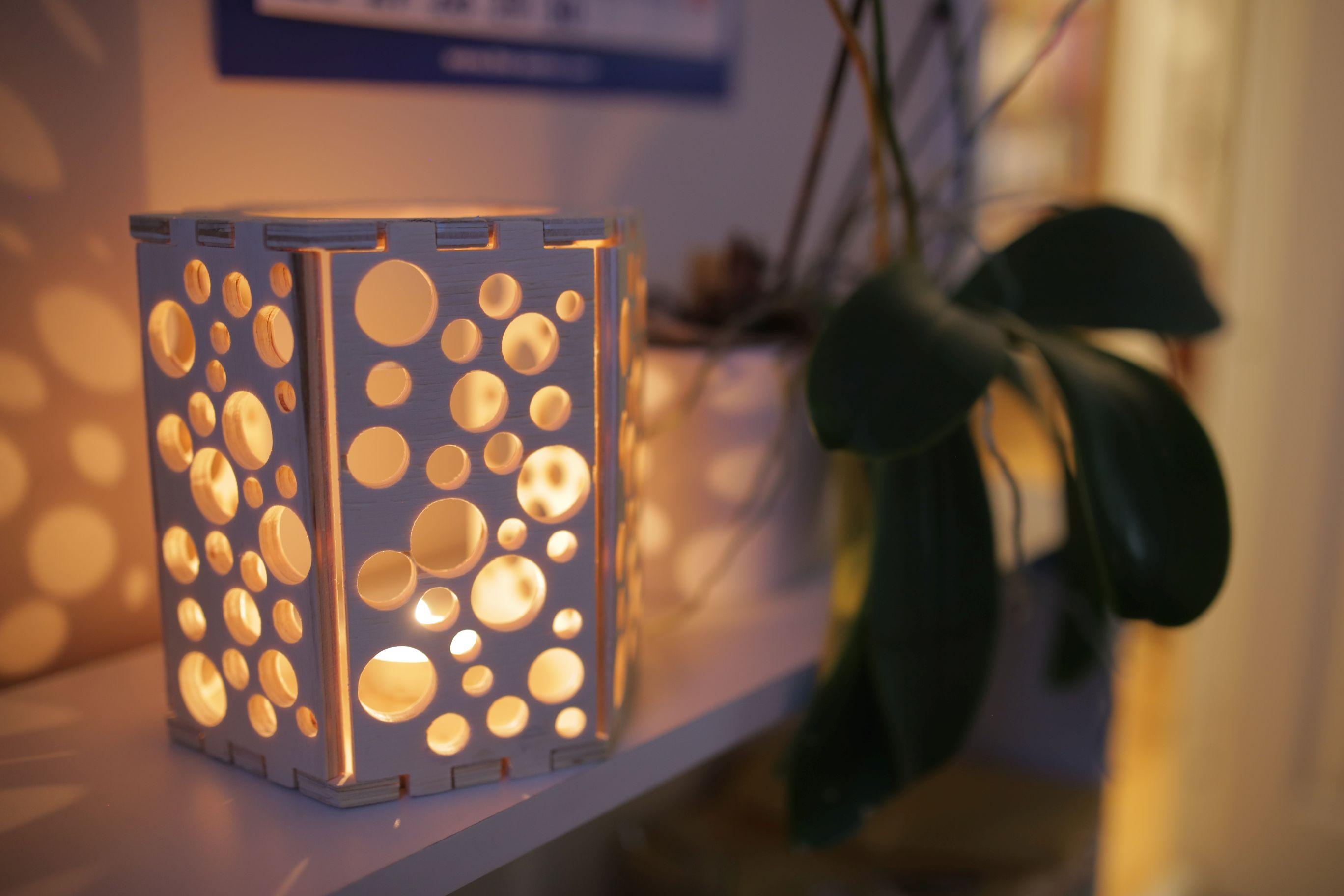 Swiss Cheese CNC Lamp – ZMorph Knowledge Base